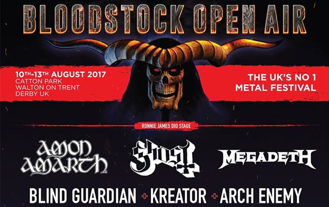 Ghost Headlining This Year's Bloodstock Saturday Night
