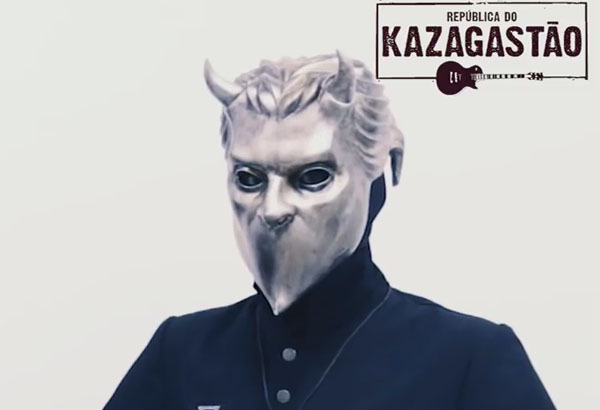 Kazagastāo Interviews Ghost