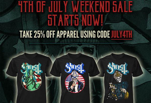 4th of July Webstore Sale