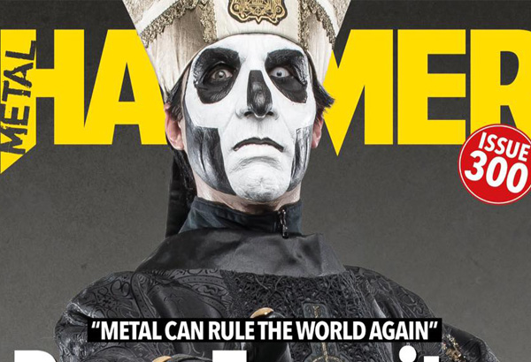 Papa Emeritus III Featured In Metal Hammer's 300th Issue