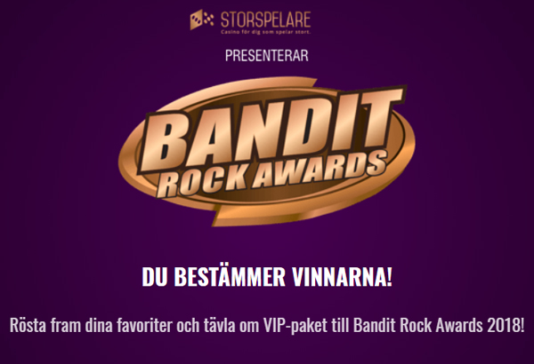 "Bandit Rock Awards: Ghost Nominated For ""Swedish Band/Artist of The Year"" And ""Swedish Live Performance"""