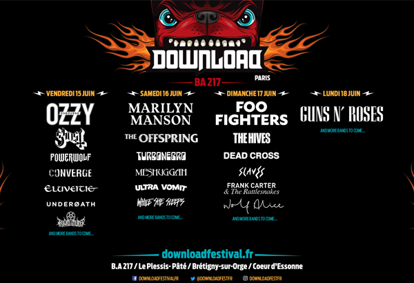 Ghost Scheduled To Perform At Download Festival France 2018