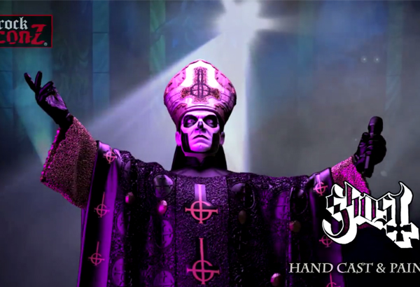 Limited Edition Papa Emeritus III Statute By KnuckleBonz Rock Iconz Now Available For Pre-Order