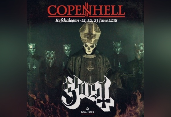 Ghost Scheduled To Perform At Copenhell Festival In Copenhagen, Denmark
