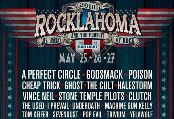 Ghost Scheduled To Perform At Rocklahoma Festival In Oklahoma