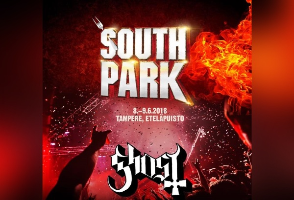 Ghost Scheduled To Perform At South Park Music Festival In Tampere, Finland