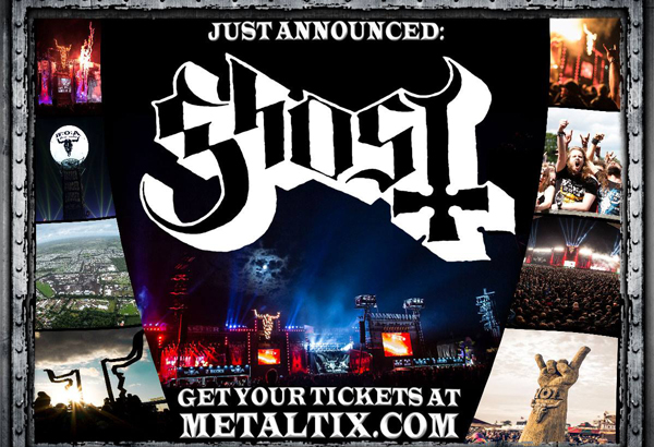Ghost Scheduled To Perform At Wacken Open Air Festival In Germany