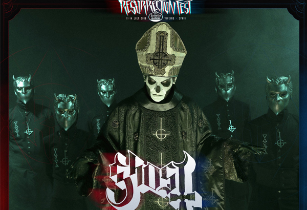 Ghost Scheduled To Perform At Resurrection Fest In Viveiro, Spain