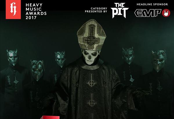 'Popestar' Wins Best Album Artwork At Heavy Music Awards