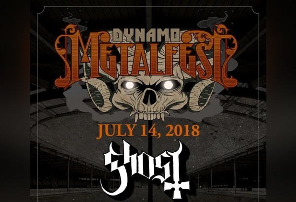 Ghost Scheduled To Perform At Dynamo Metal Fest In The Netherlands