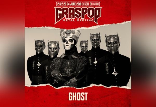 Ghost Scheduled To Perform At Graspop Metal Meeting In Belgium