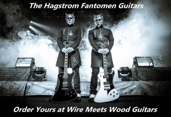 Fantomen Guitars From Hagstrom Now Available To Pre-Order In The USA