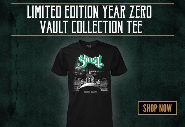 Limited Edition 'Year Zero' Vault Collection Tee Now Available