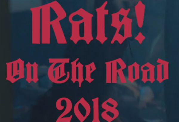 Ghost Tease New Video/'Rats On The Road' Tour Promo