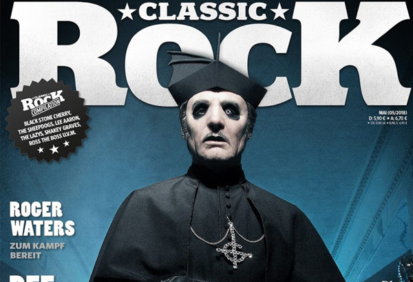 Cardinal Copia On The Cover of Classic Rock Magazine's Next Issue