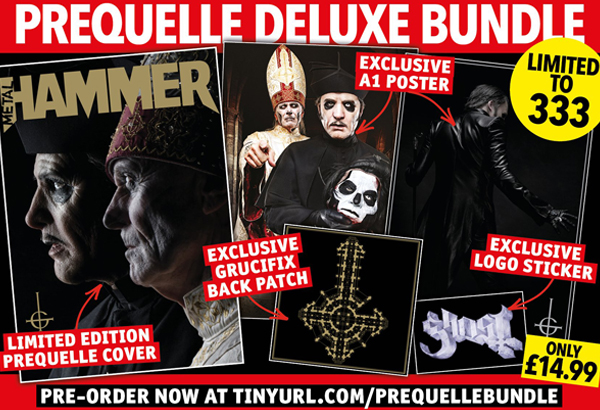 Metal Hammer Teams Up With Ghost To Offer Different Magazine Cover Bundles