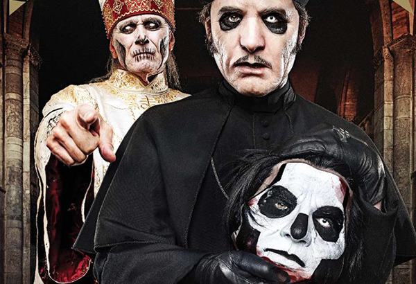 Ghost On The Cover of Metal Hammer Magazine