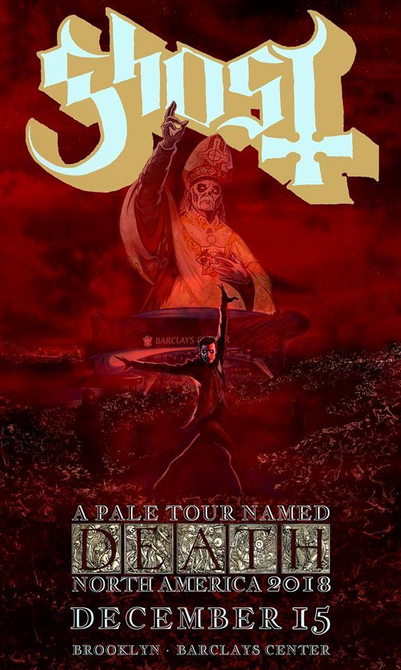 Win A Trip To See Ghost Live In New York Via La Roma Records