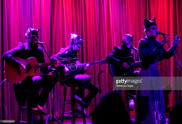 Live Pictures of Ghost At The Grammy Museum