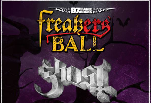 97.1 The Eagle Presents 'Freaker's Ball' Featuring Ghost