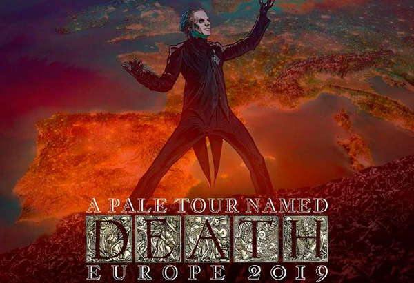 A Pale Tour Named Death Europe 2019 + Vip Info