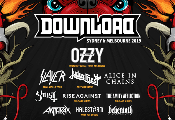 Ghost Scheduled To Perform At Download Festival Australia
