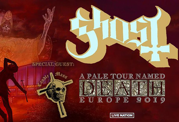 Candlemass To Support Ghost On European Tour