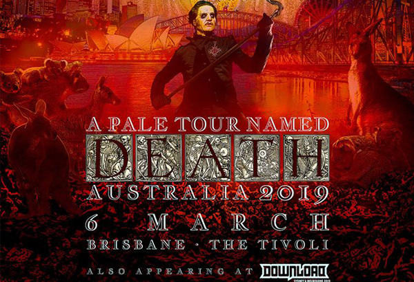 Ghost Scheduled To Perform In Brisbane, Australia