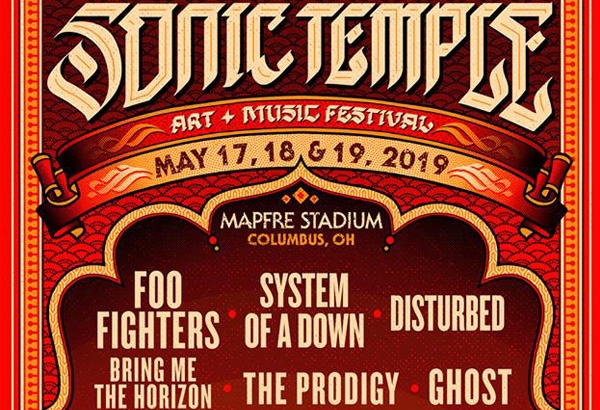 Ghost Scheduled To Perform At The Inaugural Sonic Temple Art + Music Festival In Columbus, OH