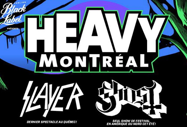 Ghost Set To Perform At Heavy Montréal Music Festival