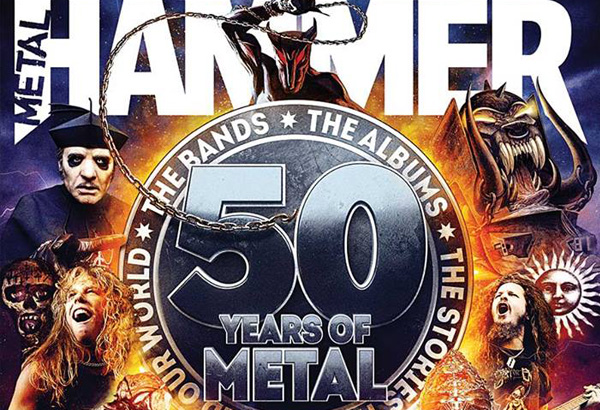 Ghost Featured In The Latest Issue of Metal Hammer's '50 Years of Metal'