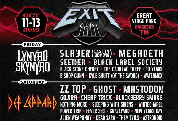 Ghost Scheduled To Perform At 'Exit 11' Music Festival In Manchester, TN