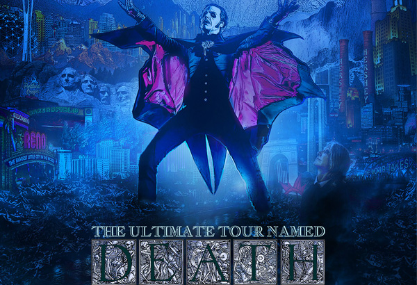 "Ghost Announces ""The Ultimate Tour Named Death Tour"" North America"