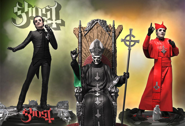 Ghost Statutes By Knuckle Bonz Now Available For Pre-Order