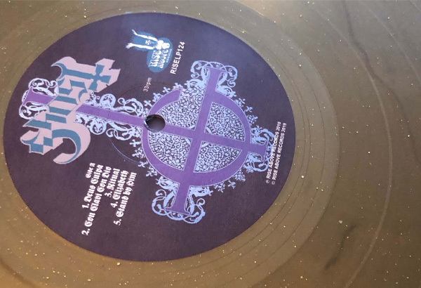 'Opus Eponymous' Gold Sparkle Rise Above Records 30th Anniversary LP