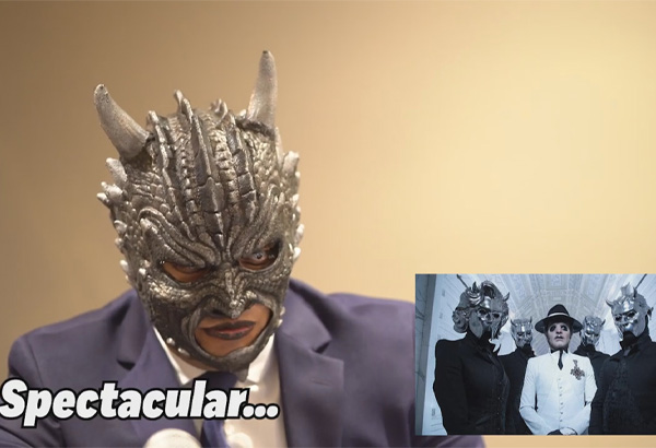 Triple AAA Luchadores React To Ghost's Masks And Other Masked Metal Bands