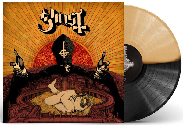 "New Limited Edition ""Infestissumam"" Half Black Half Gold Vinyl Now Available For Pre-Order"