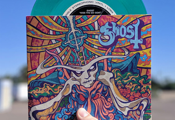 "Zia Records Exclusive Ghoulish Green ""Seven Inches of Satanic Panic"" Vinyl Now Available! (In-Store Only)"