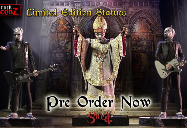 New Ghost Statutes By Knuckle Bonz Now Available For Pre-Order