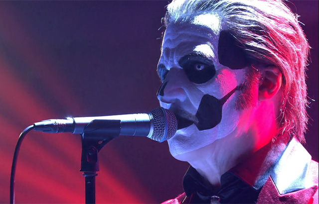 Papa Emeritus IV Performs 'Sympathy For The Devil' by The Rolling Stones on Swedish Television Show