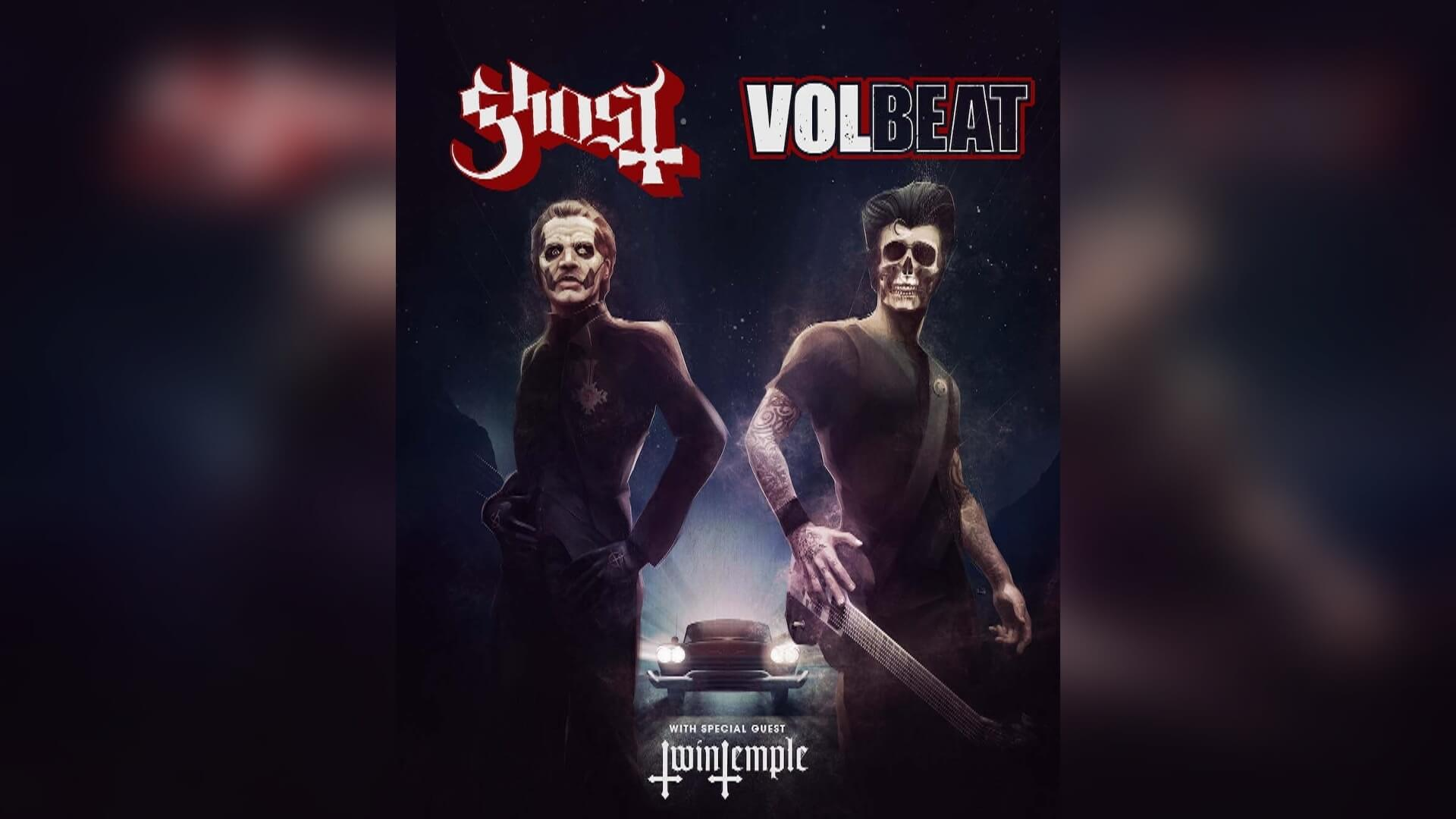 Ghost Announces U.S. Co-Headlining Tour With Volbeat