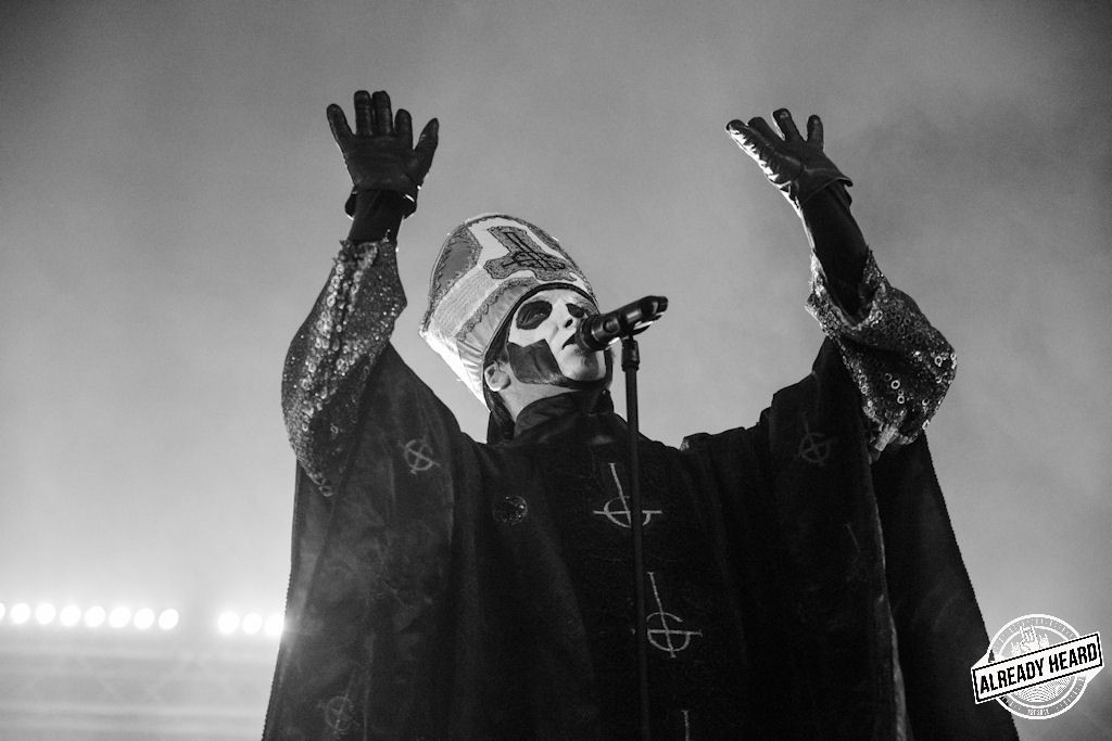 Live Ghost Pics From Carrie-Anne Pollard – Leeds Festival